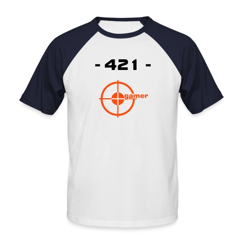 421-Gamer T-Shirt - Männer Baseball-T-Shirt