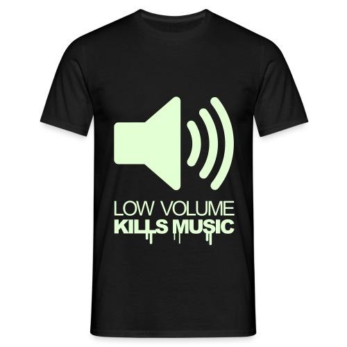 pump up the volume - Männer T-Shirt
