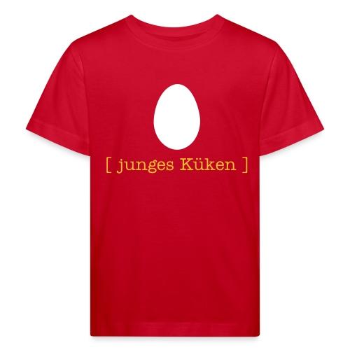 Bio Kinder Shirt junges Küken Ei Ostern Tiershirt Shirt Tiermotiv - Kinder Bio-T-Shirt