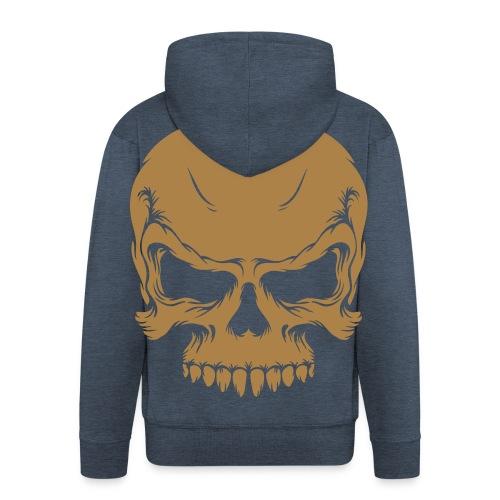 Veste à capuche Premium Homme - veste,tete de mort,tdm,pull,geek,cl0sed,capuche