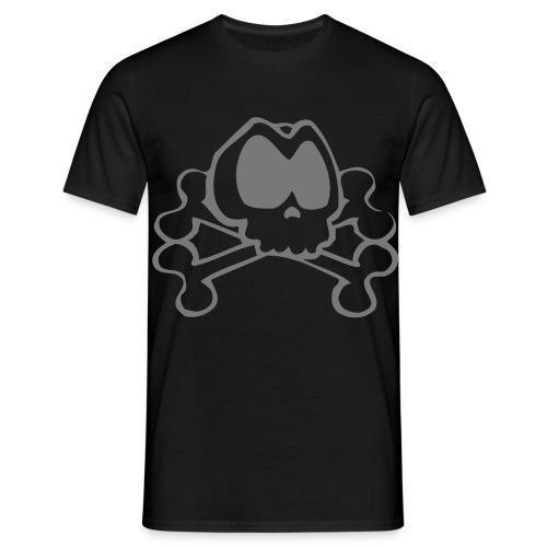 T-shirt Homme - tete de mort,tee shirt,tdm,t-shirt,geek,cl0sed