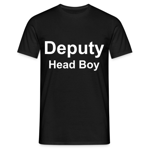 Deputy Head Boy T-SHirt - Men's T-Shirt