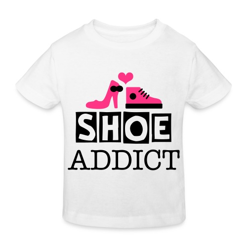 Shoe addict LITTLE GIRL Tee - Kinderen Bio-T-shirt