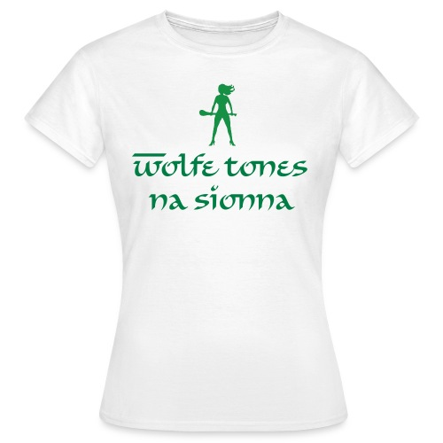 Hurling Babe Wolfe Tones - Women's T-Shirt
