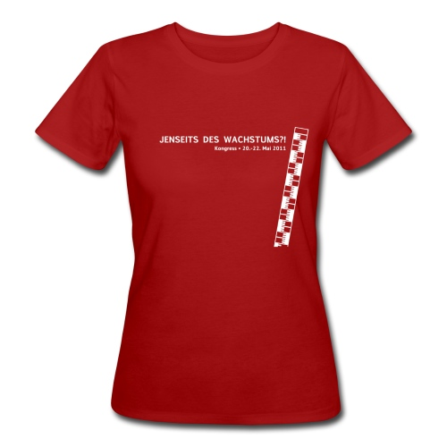Frauen Shirt, Motiv: weiß - Frauen Bio-T-Shirt