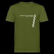 T-Shirts ~ Männer Bio-T-Shirt ~ Männer Shirt, Motiv: Weiß