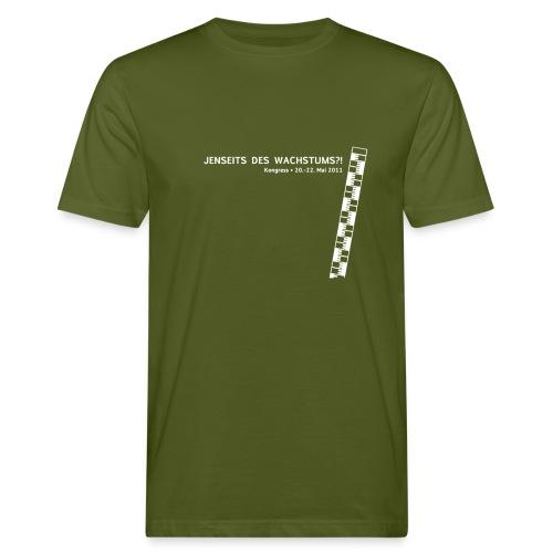 Männer Shirt, Motiv: Weiß - Männer Bio-T-Shirt