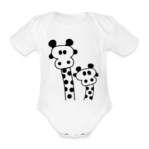 nektie - Organic Short-sleeved Baby Bodysuit