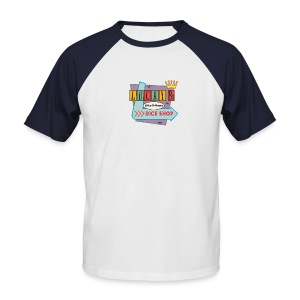 Lucky B's Retro Sign - Men's Baseball T-Shirt