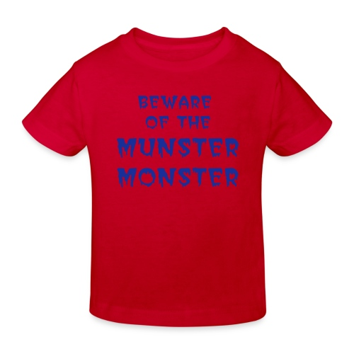 Rugby - kids - Munster Monster - Kids' Organic T-Shirt