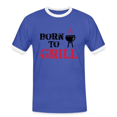 Bbq t-shirt - Men's Ringer Shirt