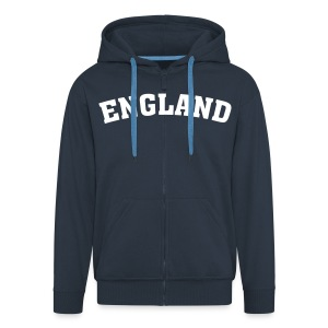 England - Men's Premium Hooded Jacket