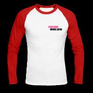 Manches longues ~ Tee shirt baseball manches longues Homme ~ Numéro de l'article 15796474