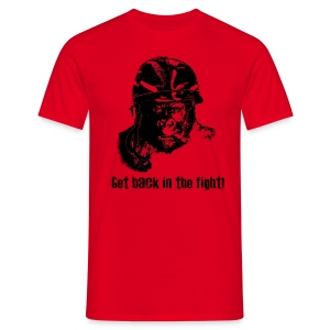 Get Back In The Fight - Men's T-Shirt