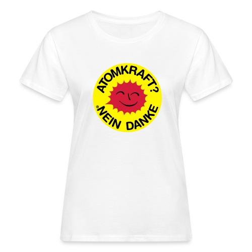 Atomkraft? Nein Danke - Frau - Frauen Bio-T-Shirt