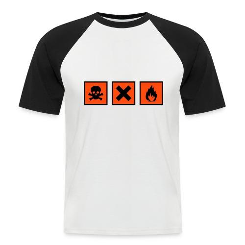 T-Shirt Fun - Détails ================== \/ - T-shirt baseball manches courtes Homme
