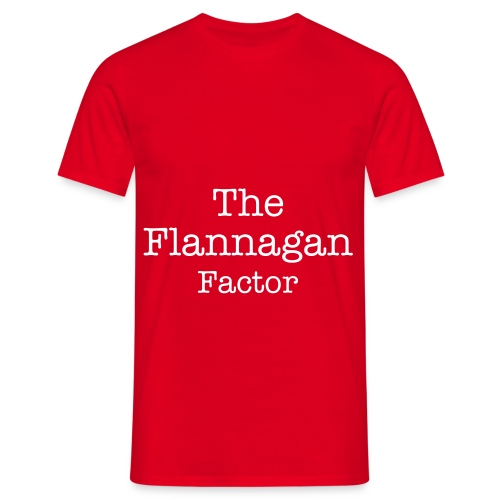 The Flannagan Factor - Men's T-Shirt