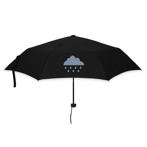 Sort paraply / Regnsky - Paraply (liten)