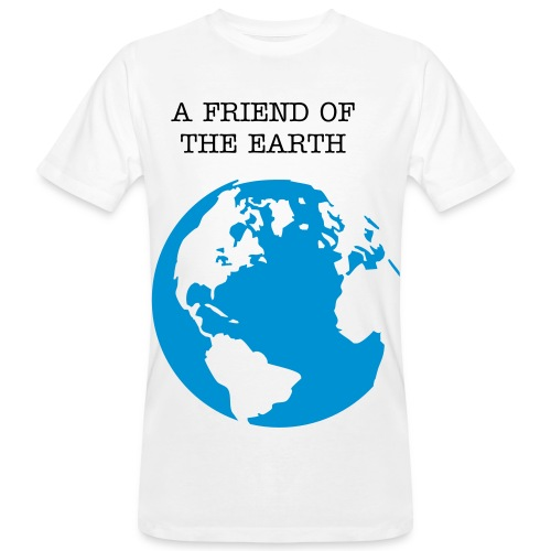 A friend of the Earth shirt - Men's Organic T-shirt