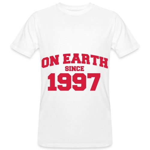 On Earth-1997. - Men's Organic T-shirt
