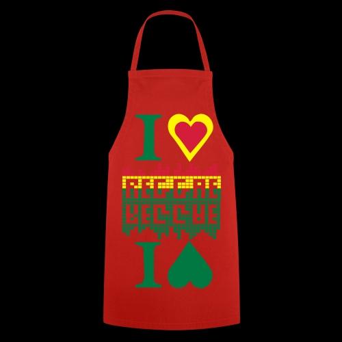 I LOVE REGGAE tablier de cuisine - Cooking Apron