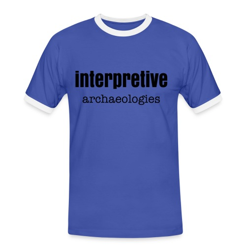 Interpretive archaeologies - Men's Ringer Shirt
