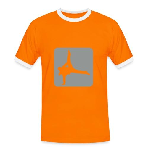 keep dancing shirt - Mannen contrastshirt