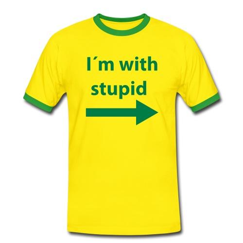 Stupid - Camiseta contraste hombre