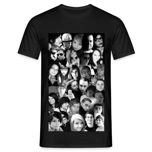 Das Gesichter Shirt - Männer T-Shirt