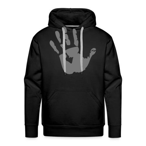 hand prints - Premium hettegenser for menn