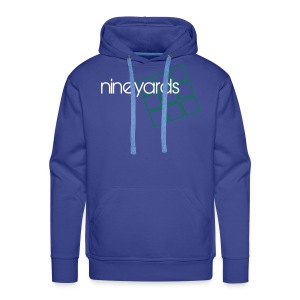 Nine Yards - Blue Tee - Men's Premium Hoodie