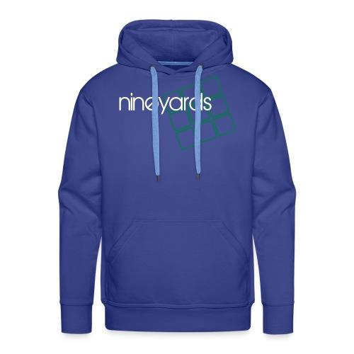 Nine Yards - Blue Tee - Men's Premium Hoodie