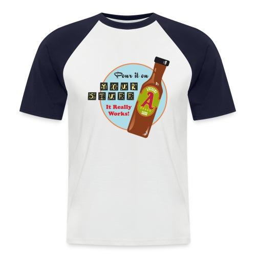 Awesome Sauce - Men's Baseball T-Shirt