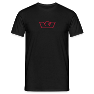 T-Shirts ~ Men's T-Shirt ~ Red Westone Bird
