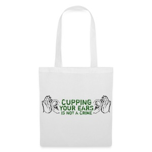 Cupping Your Ears - Tote Bag