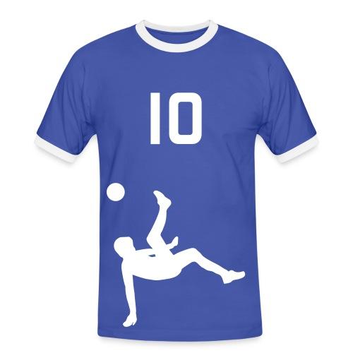 Soccer Blue - Men's Ringer Shirt