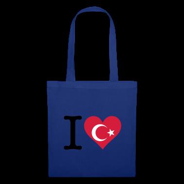 I Love Turkey (3c) Bags