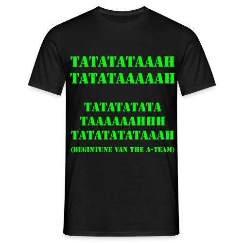 A-team Begintune - Mannen T-shirt