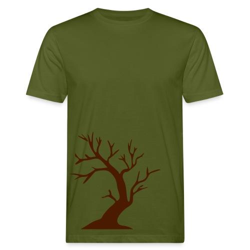 Puu. (luontoa säästävä t-paita) - Miesten luonnonmukainen t-paita