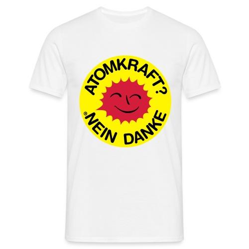 No Atom - Männer T-Shirt
