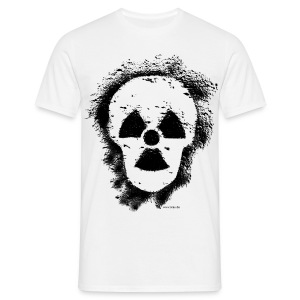 Anti-Atomkraft Graffiti (vorne + hinten) - Männer T-Shirt