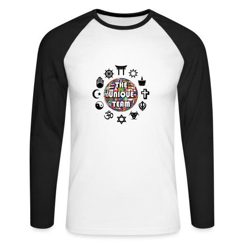 T Shirt H Unique Team - Men's Long Sleeve Baseball T-Shirt