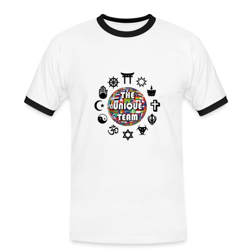 T Shirt H Unique Team - Men's Ringer Shirt