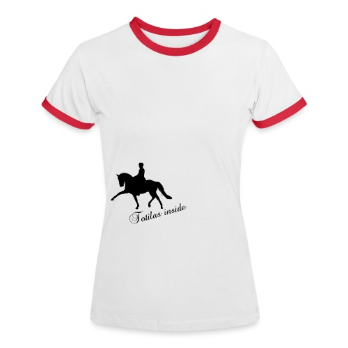 Totilas Inside - dressage t-shirt contrast - Maglietta Contrast da donna