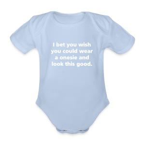 BABY: Wear a onesie - Organic Short-sleeved Baby Bodysuit