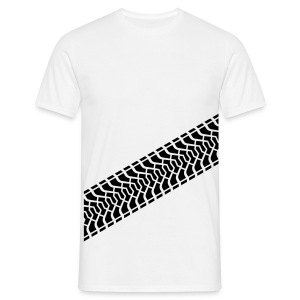 Tire Track / Reifenabdruck Diagonal, T-Shirt - Men's T-Shirt