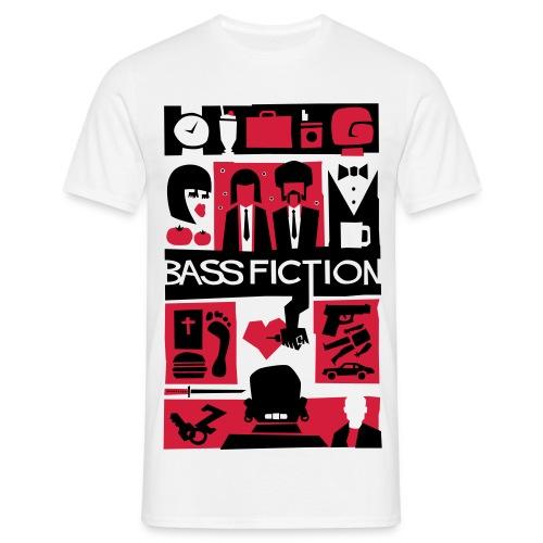 Bass Fictionn (Estampacion extragrande) - Camiseta hombre