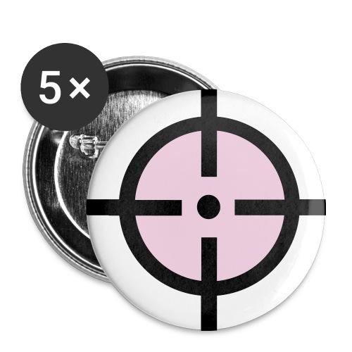 T-SHIRT HOMME - Badge moyen 32 mm