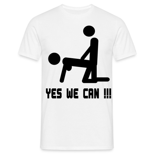 Yes we can!!! - Men's T-Shirt