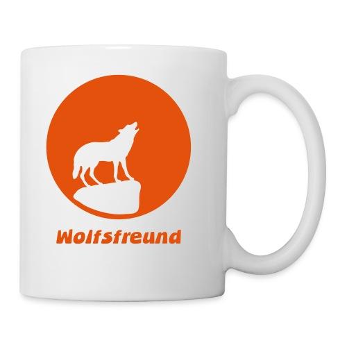 Tasse Wolf canis lupus lustig Büro Tier Tiermotiv - Tasse